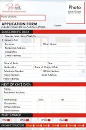 rosemont application form